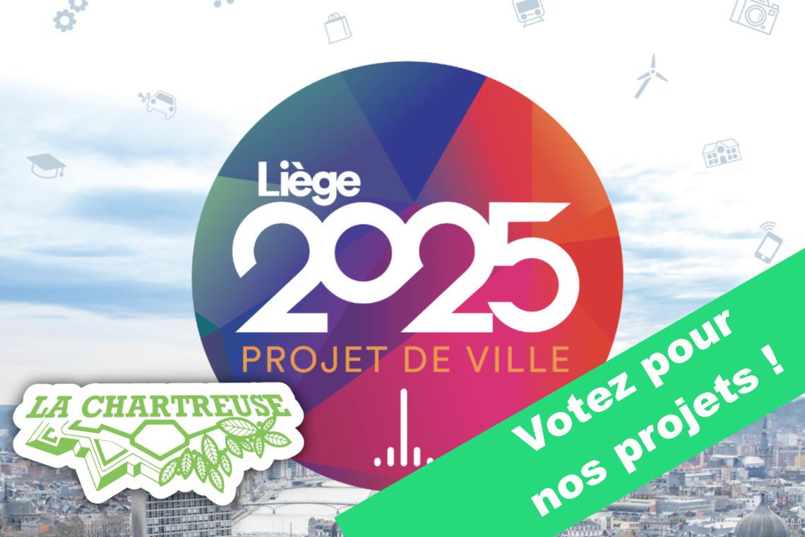 Projet de Ville, Liège 2025