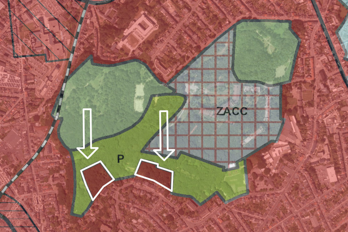Projet de modification du plan de secteur du parc de la Chartreuse