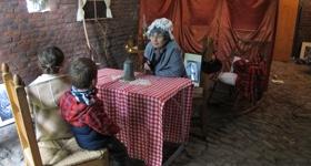Une grand-mère dans l'årvô…